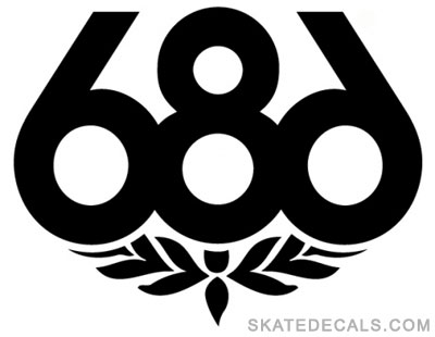 2 686 Skate Stickers Decals