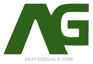 2 Analog Skateboarding Stickers Decals