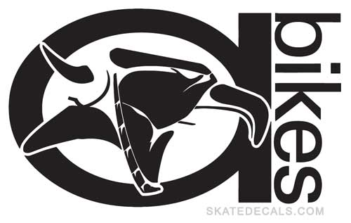 2 Animal Bikes Full Logo Stickers Decals