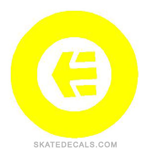 2 Etnies Circle Stickers Decals