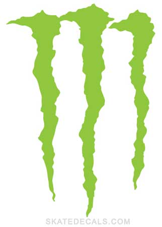2 Monster Energy Drink Stickers Decals