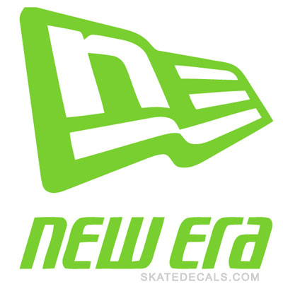 2 New Era Logo Stickers Decals