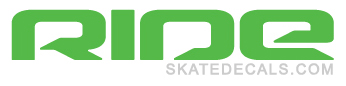 2 Ride Snowboards Logo Stickers Decals