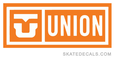 2 Union Bindings Logo Stickers Decals